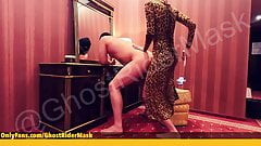 Standing pegging with leopard mistress by GhostRiderMask
