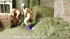 CLUBXFLAT- farmer FUCKS woman