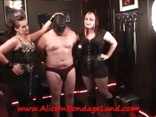 Cock and nipple torture - Nipple torture bdsm femdom threesome humiliation kinky domme