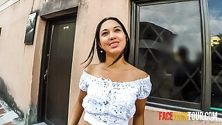 Hard Face Fuck For Beautiful Mexican Babe
