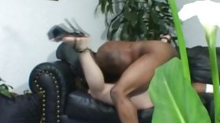 Wifey Watches BBC Slide Inside Her To Feel Good And Arouse