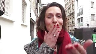 Sexy mature french wife loves rough anal fuck