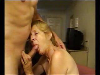 Tube suck dick Granny hot suck dick and cum