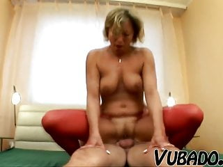 Hot Sex With Attractive Old Woman