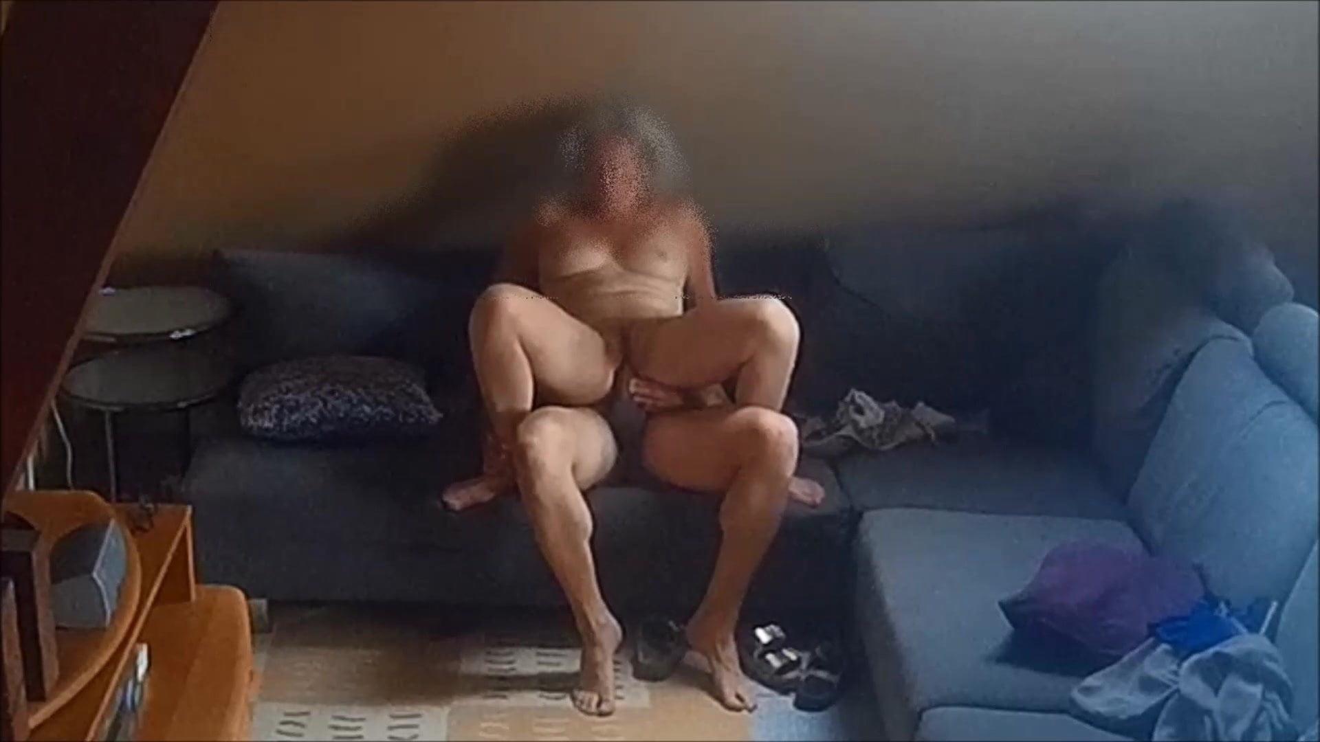 Erotischer Sex Auf Dem Sofa