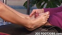 I can't wait to have your cum dripping off my feet
