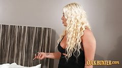 Busty Blonde London Rose Gets Interracial Cuckold Revenge