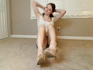 Shemale soleli videos - Cute gorgeous girl feet soles heels humiliation pov