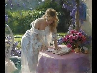 Holiday erotic art Sensual erotic art of vicente romero redondo