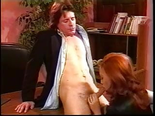 Porn stars of the 1990 s 1990s porn redhead boss interviews for a facial