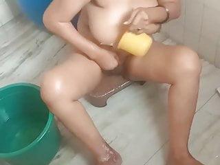 Meena sex scene Meena bathing in bathroom