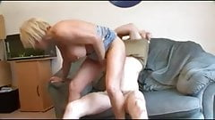 Slutty Milf loves young cock