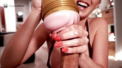 I'll push you to your limits! POV handjob and fleshlight edging