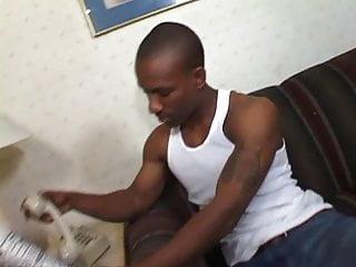 Cum cram Ebony hottie crams her pussy with hard cock