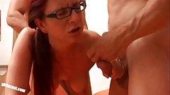 Nicole big Cock threesome casting