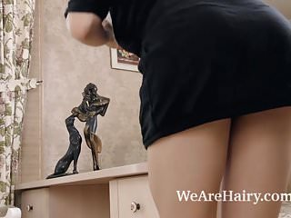 Pantyhose free picture archieve Veronika mars strips and plays after pictures