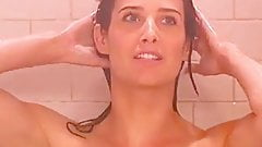 Cobie Smulders - Shower Scene in How i met your mother
