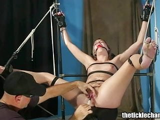 Bdsm interrogation scenes - Pussy tickle interrogation