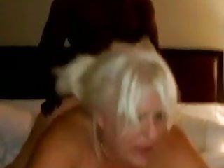 Heat up sex Hot big tits mature heats hubby up while doggied by a bbc