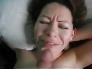Cum load faces Cum load to the face