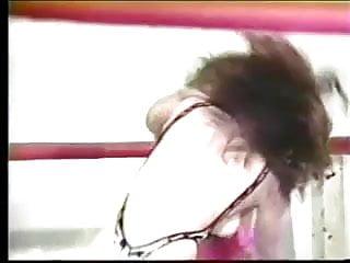 Busty nude wrestling - Vintage nude wrestling