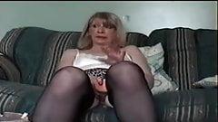 mature granny masturbating on real homemade and blowing