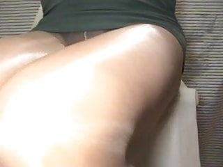 Sasha legings nude Crossdresser pantyhose leges green 021