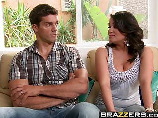 Uptight wife sex story - Brazzers - real wife stories - threesome therapy scene starr