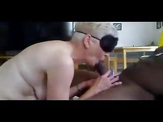 Shemale hard ons Black cock destroys grannys asshole in one hard push