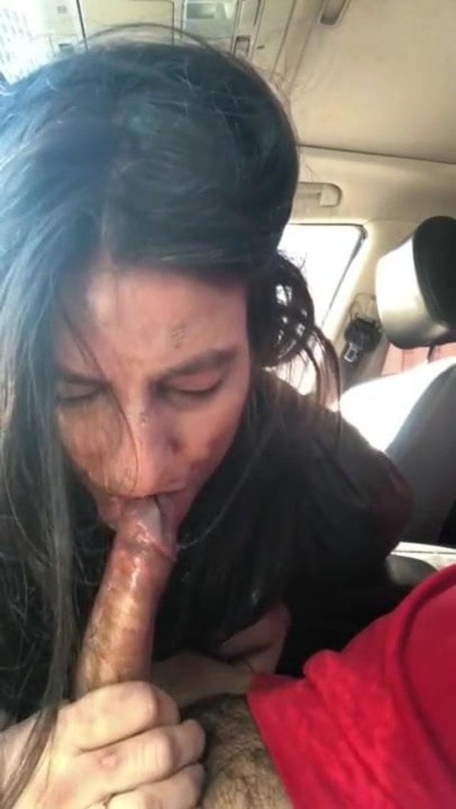 Bitch Blowjob The Street