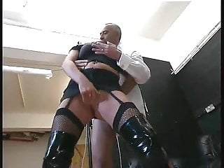 Man on woman anal - Old man fucks hard a naughty woman