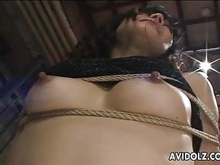 Cannot relax during oral sex Asian girls cannot escape rough sex