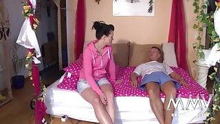MMV FILMS Hot burnette likes it warm
