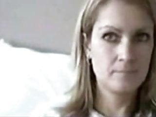 Milf stripping on webcam - Blonde milf strips on webcam