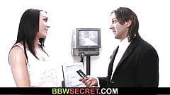 Boss caught cheating with fat secretary