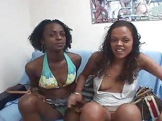 Usb sex toy Ebony lesbian fever v...usb