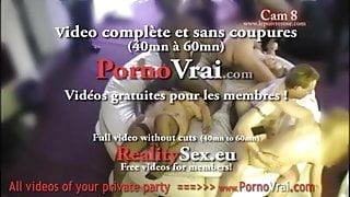 Camera espion en soiree privee ! French spycam59