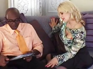Sex infront of people - Hot wife fucking black man infront of her husband