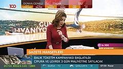 Turkish Anchorwoman Ela Rumeysa Cebeci