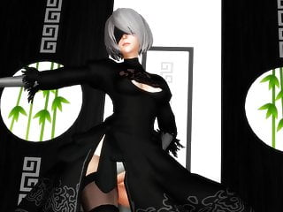 Hentai dark magician Mmd r-18 2b - dark sea adventure nier: automata 3d hentai mv