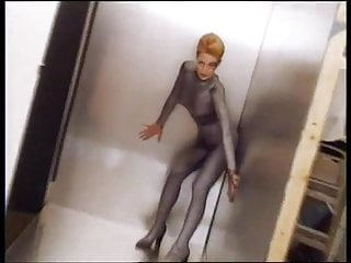 Jeri ryan signed nude photos playboy Jeri ryan - 1997 photoshoot in silver catsuit for star trek