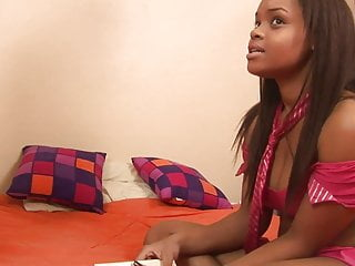 Fuck gets hard teen Ebony honey gets hard dogy style fuck by a white guy