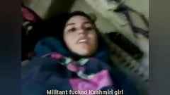 Kashimri Muslim girl fucked by muslim militant people
