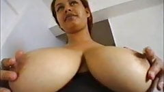 Busty Luana gets fucked in the ass and between tits