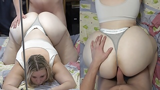 Anal Fucking 19yo Blonde With a Nice Thick Ass!