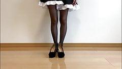 Japan pantyhose show 6