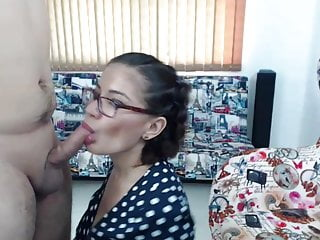 Amstredam live sex show Live sex show 02 - cumshot -blowjobs -depp throat