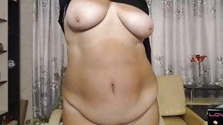 Selenna57 showing her amazing body