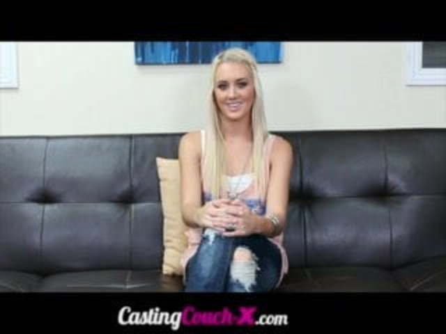 Backroom Casting Couch Tits