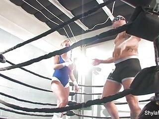 First amateur mma fight Shyla stylez mma training and fucking